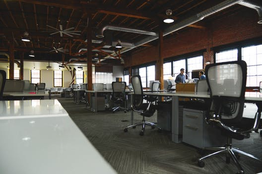 Big wide office space